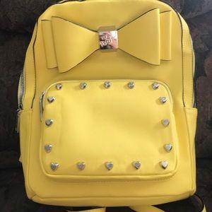 Bow Betsey Johnson Backpack